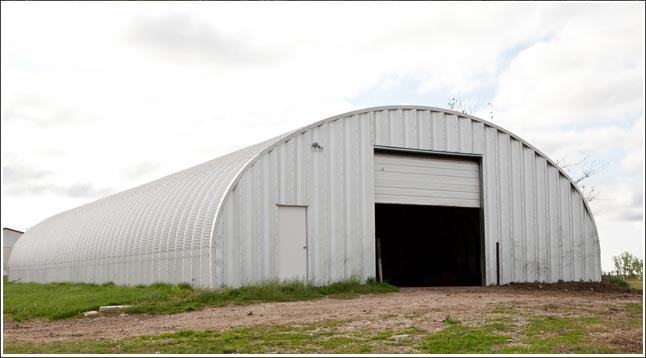 Alabama Steel Arch Buildings Garage Kits Metal
