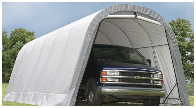 Fabric Carports And Garages : Best metal garage kits types of