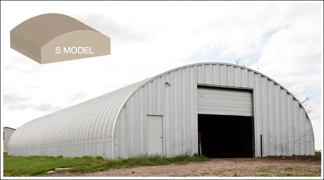 Metal Barn Kits >> S Model Arch Buildings For Sale Garage Kits Metal